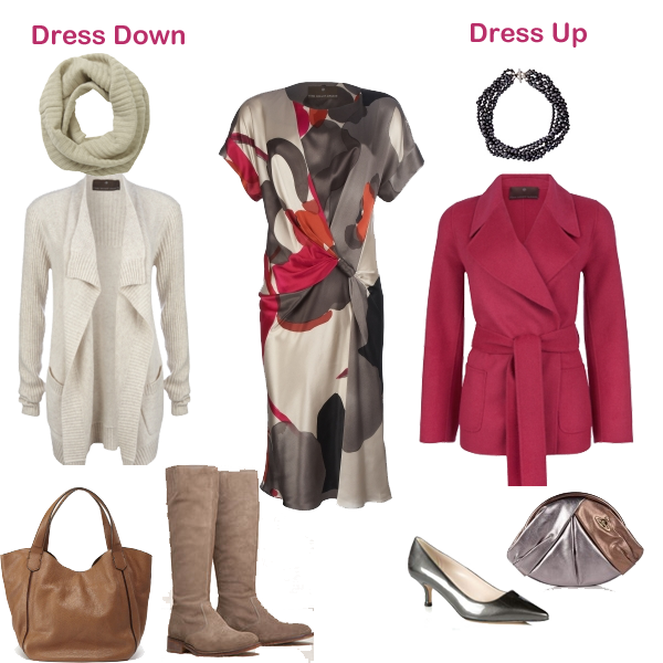How to dress up and dress down a dress