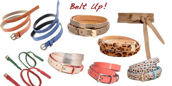 belts looking stylish
