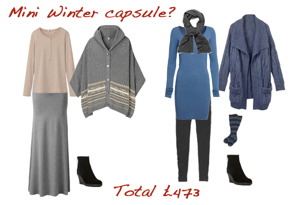 mini winter capsule wardrobe