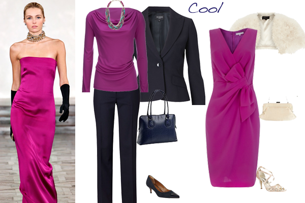 how to wear pink cool colouring