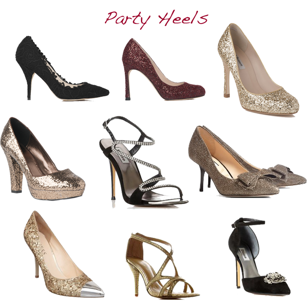 what to wear party heels