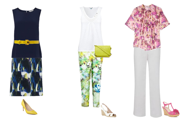 how to wear watercolour print