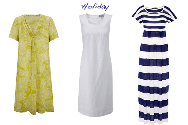 what to wear linen dress