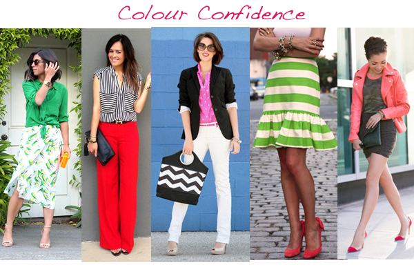 wearing colour with confidence