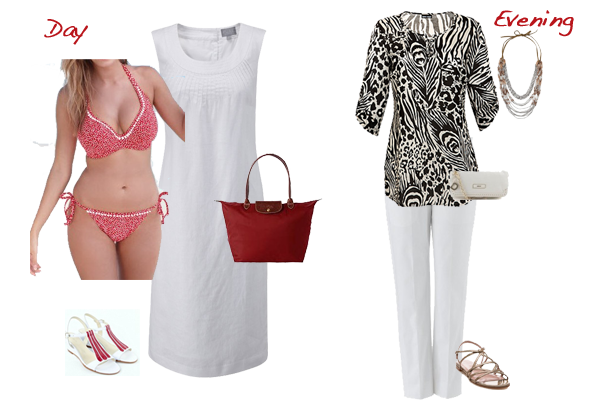 holiday capsule wardrobe, what to pack