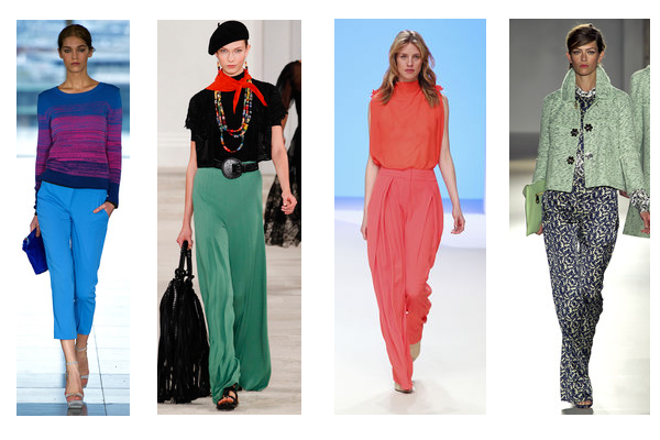 trouser trends, summer trousers, crop trousers, capri, wide leg, palazzo,