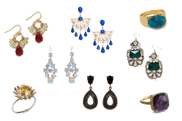 what to wear party jewellery