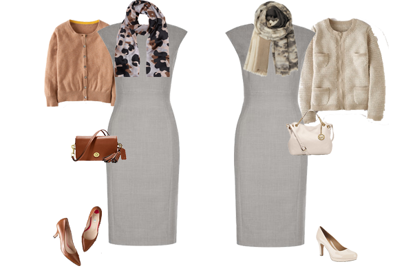 how to wear neutrals, capsule wardrobe