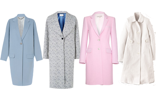how to wear, pastel coats, spring coats