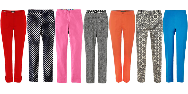 spring trend tapered trousers