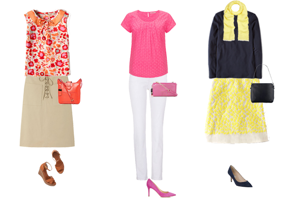 How to wear spring colour