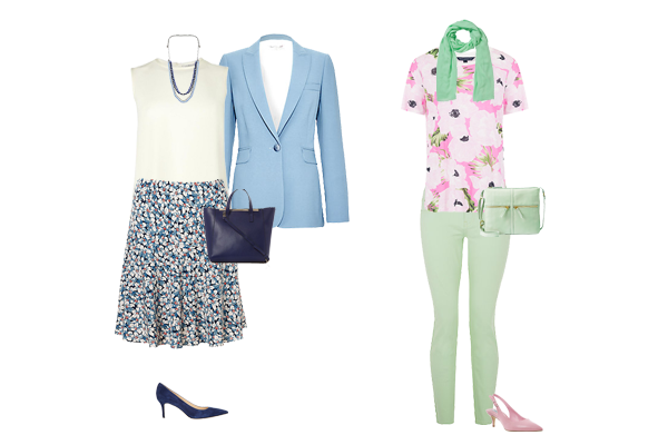 pastel trend, floral trend, styling tips