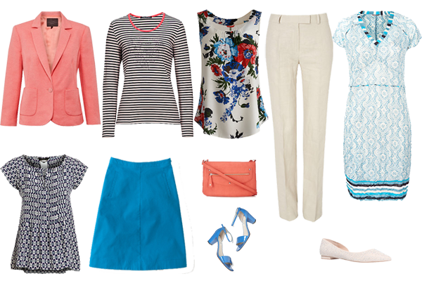 Creating outfits, Capsule wardrobe