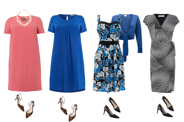 how to wear dresses plus size