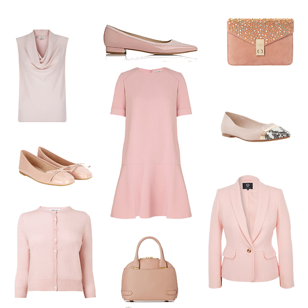 what to wear now blush pink