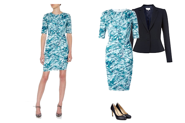 capsule wardrobe, investment dress