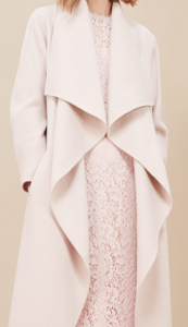 Hobbs waterfall coat