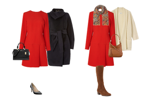 How to wear, Styling tips, red dress