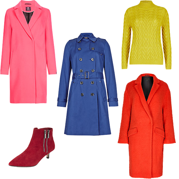 Bold brights, Marks and spencer autumn 2014