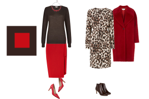How to wear chocolate brown, seasonal trend red and brown