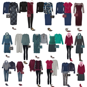 capsule wardrobe autumn 2014 example