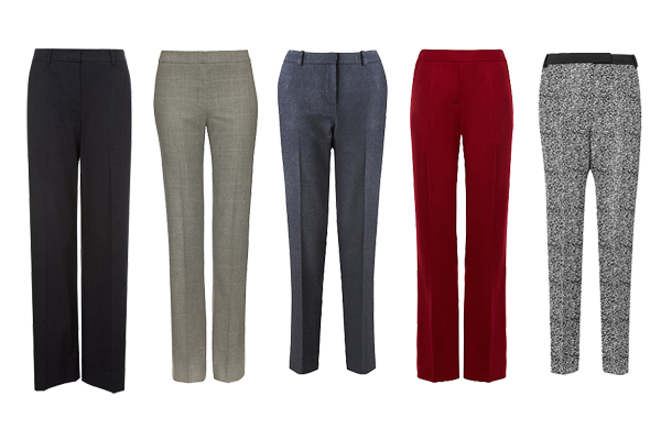 Trousers to suit your body shape, capsule wardrobe