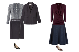 Business wear capsule wardrobe