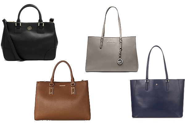 businesswear capsule wardrobe handbags