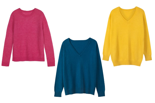 Knits to suit your body shape,