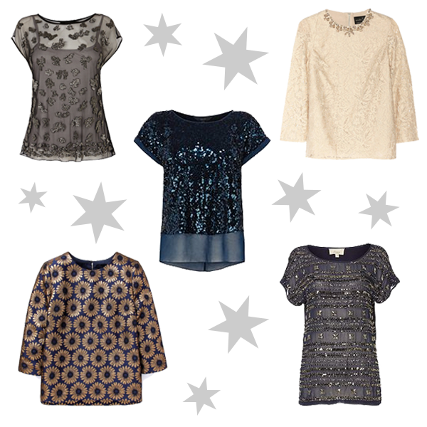 What to wear, party top, sparkly top