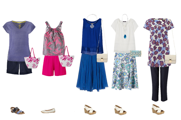 Holiday capsule wardrobe,