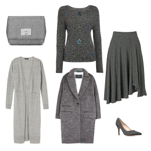 How to wear grey