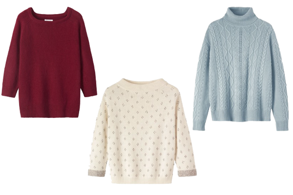 Knits to suit your body shape