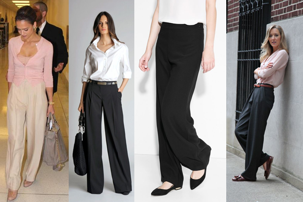 What Shoes To Wear With Wide Leg Pants