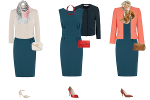 How to mix colours in your wardrobe, how to wear teal