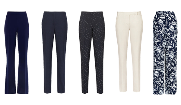 Choosing trousers for a capsule wardrobe