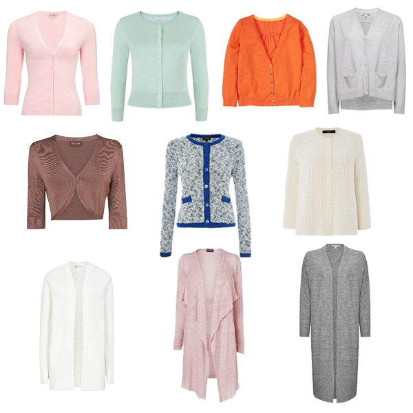 choosing cardigans for capsule wardrobe