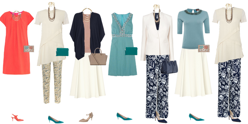Spring capsule wardrobe, capsule wardrobe evening wear