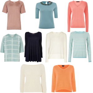 choosing jumpers for capsule wardrobe