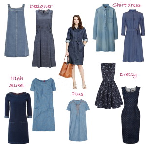 How to wear, seasonal trend denim dress
