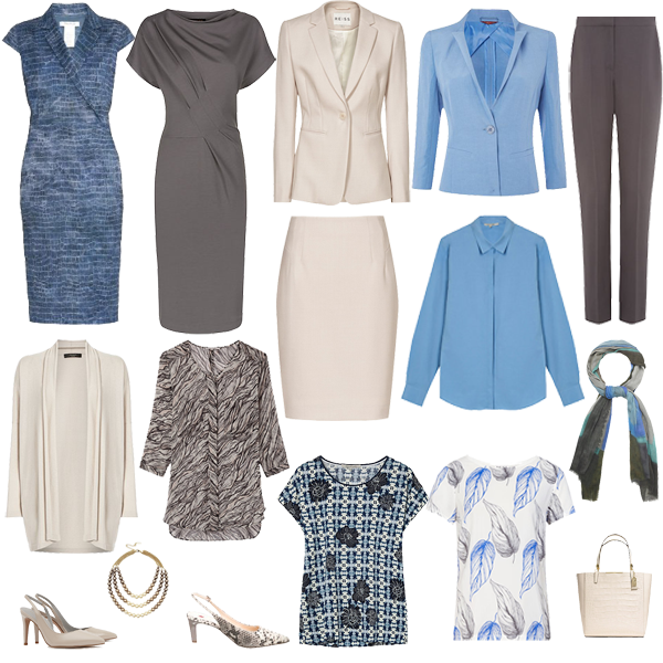 summer capsule wardrobe, business wear