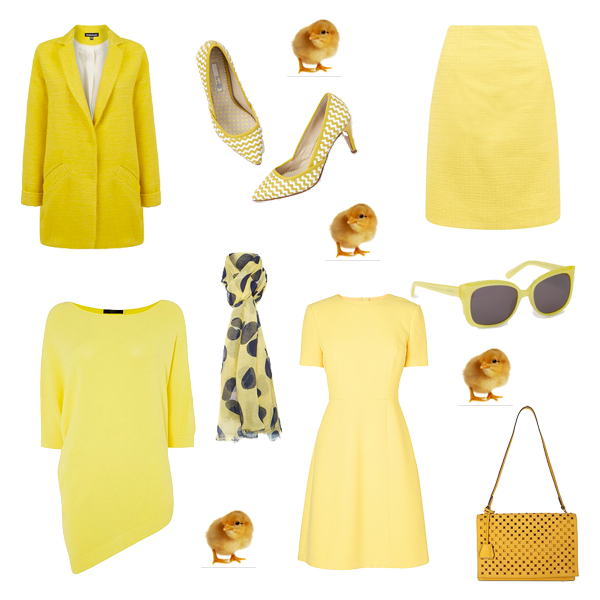 what to add to your wardrobe, wearing yellow
