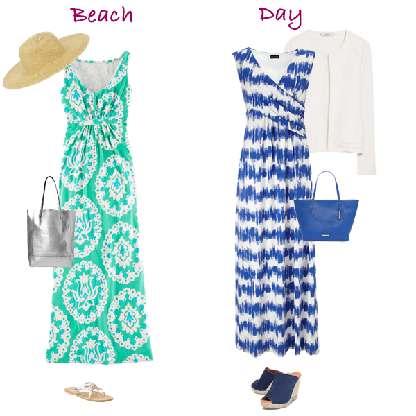 Maxi dresses for your capsule wardrobe