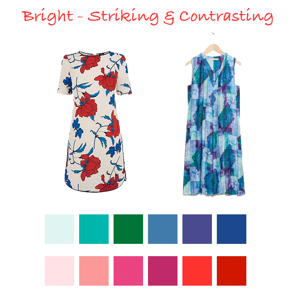 How to wear print to suit your colouring, your best colours