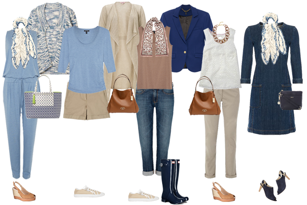 A Summer Holiday Capsule Wardrobe for a UK Staycation ...