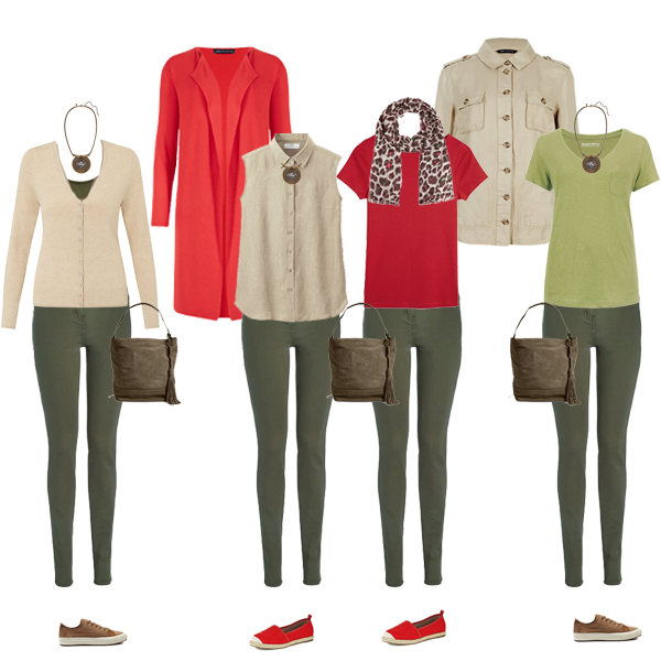 Casual Capsule Wardrobe on a Budget