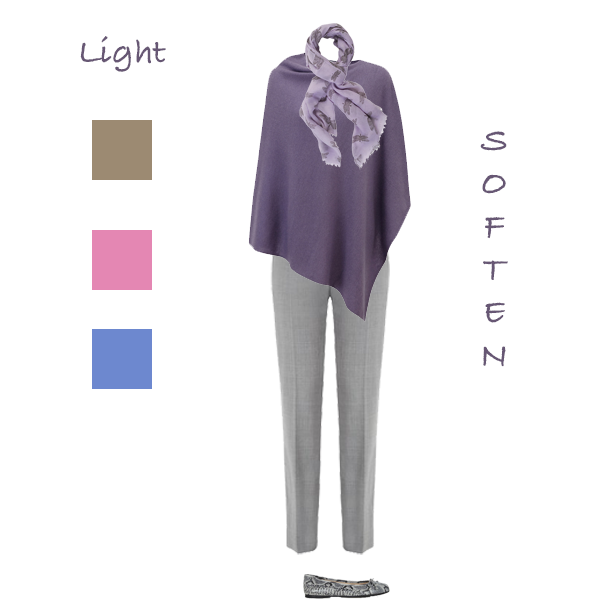 How to wear purple to suit your colouring