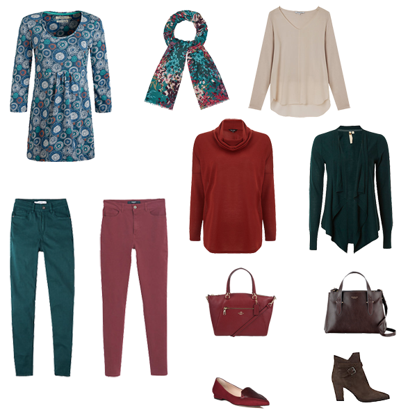 creating capsule wardrobe colour schemes