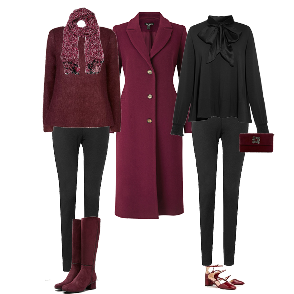Smart casual autumn outfits, capsule wardrobe