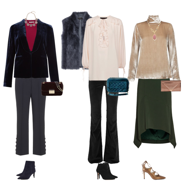 How to wear velvet, styling tips for velvet